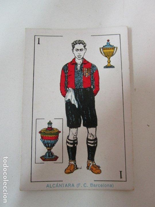 Barajas de cartas: Antigua Baraja de Futbol - Cromos de Chocolates A. Amatller - 48 Cartas, Completa - Años 20-30 - Foto 7 - 178209721