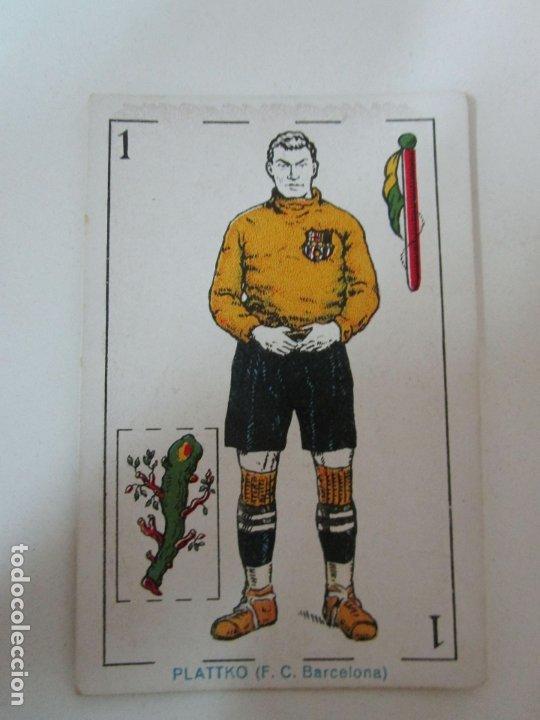 Barajas de cartas: Antigua Baraja de Futbol - Cromos de Chocolates A. Amatller - 48 Cartas, Completa - Años 20-30 - Foto 8 - 178209721