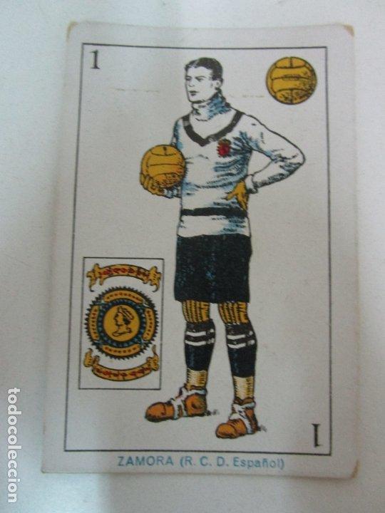 Barajas de cartas: Antigua Baraja de Futbol - Cromos de Chocolates A. Amatller - 48 Cartas, Completa - Años 20-30 - Foto 9 - 178209721