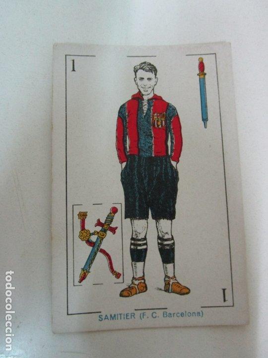 Barajas de cartas: Antigua Baraja de Futbol - Cromos de Chocolates A. Amatller - 48 Cartas, Completa - Años 20-30 - Foto 10 - 178209721