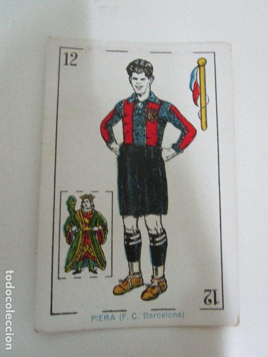 Barajas de cartas: Antigua Baraja de Futbol - Cromos de Chocolates A. Amatller - 48 Cartas, Completa - Años 20-30 - Foto 11 - 178209721