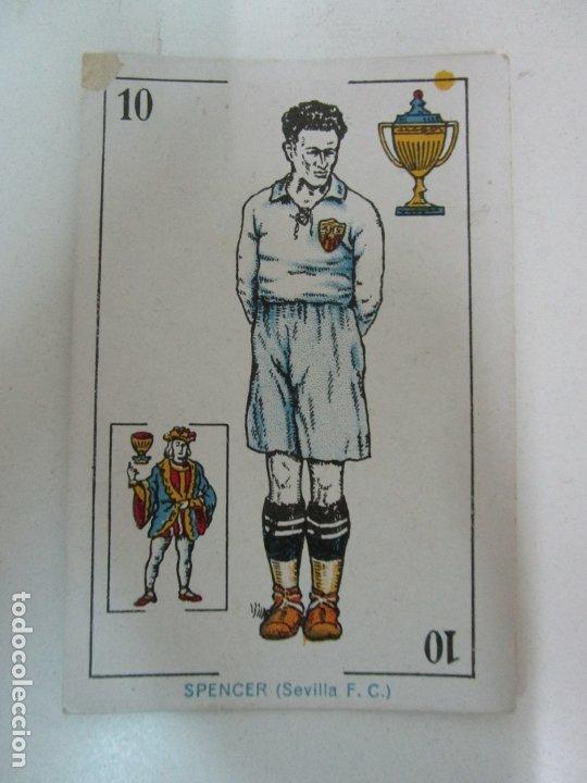 Barajas de cartas: Antigua Baraja de Futbol - Cromos de Chocolates A. Amatller - 48 Cartas, Completa - Años 20-30 - Foto 12 - 178209721