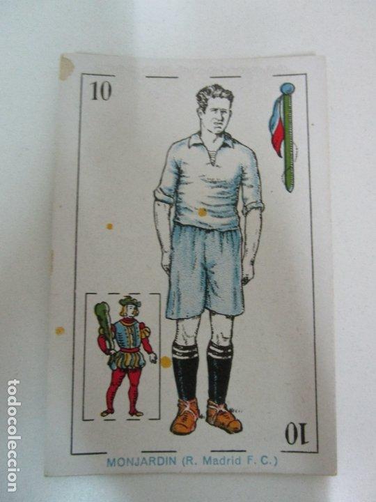 Barajas de cartas: Antigua Baraja de Futbol - Cromos de Chocolates A. Amatller - 48 Cartas, Completa - Años 20-30 - Foto 15 - 178209721