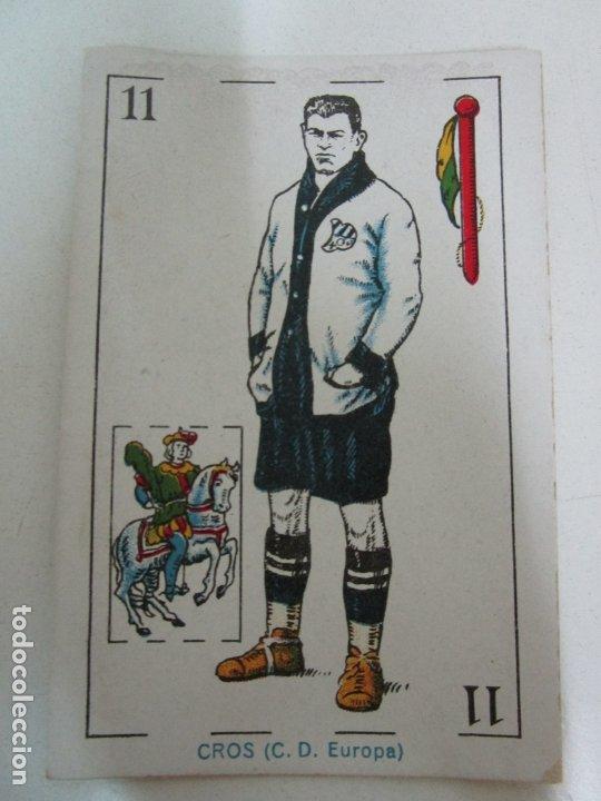 Barajas de cartas: Antigua Baraja de Futbol - Cromos de Chocolates A. Amatller - 48 Cartas, Completa - Años 20-30 - Foto 16 - 178209721
