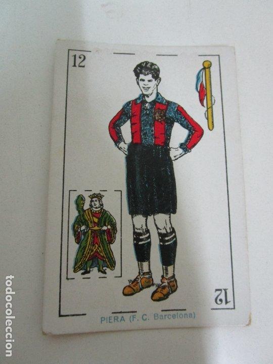 Barajas de cartas: Antigua Baraja de Futbol - Cromos de Chocolates A. Amatller - 48 Cartas, Completa - Años 20-30 - Foto 17 - 178209721