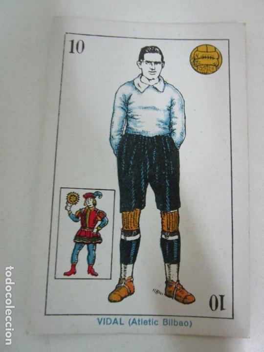 Barajas de cartas: Antigua Baraja de Futbol - Cromos de Chocolates A. Amatller - 48 Cartas, Completa - Años 20-30 - Foto 18 - 178209721