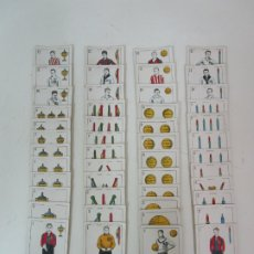 Barajas de cartas: ANTIGUA BARAJA DE FUTBOL - CROMOS DE CHOCOLATES A. AMATLLER - 48 CARTAS, COMPLETA - AÑOS 20-30. Lote 178209721