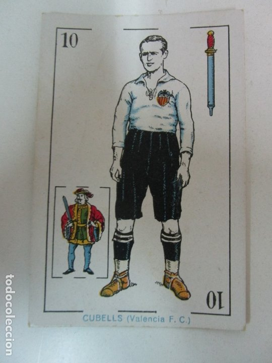 Barajas de cartas: Antigua Baraja de Futbol - Cromos de Chocolates A. Amatller - 48 Cartas, Completa - Años 20-30 - Foto 22 - 178209721