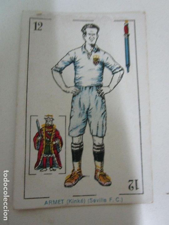 Barajas de cartas: Antigua Baraja de Futbol - Cromos de Chocolates A. Amatller - 48 Cartas, Completa - Años 20-30 - Foto 23 - 178209721