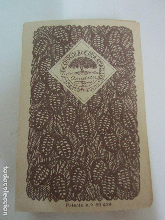 Barajas de cartas: Antigua Baraja de Futbol - Cromos de Chocolates A. Amatller - 48 Cartas, Completa - Años 20-30 - Foto 24 - 178209721