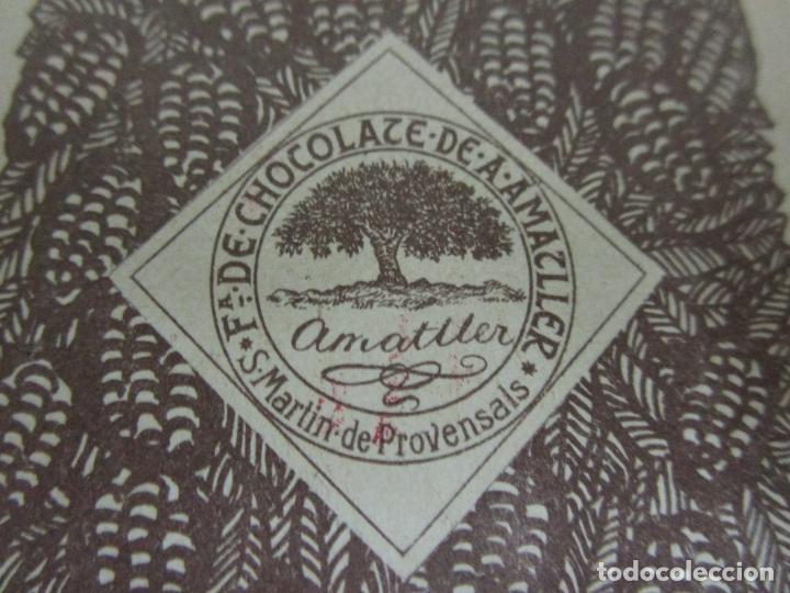 Barajas de cartas: Antigua Baraja de Futbol - Cromos de Chocolates A. Amatller - 48 Cartas, Completa - Años 20-30 - Foto 25 - 178209721