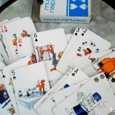 Barajas de cartas: BARAJA MULTI NAIPES MULTIDERMOL - 54 NAIPES - POKER. Lote 178258687