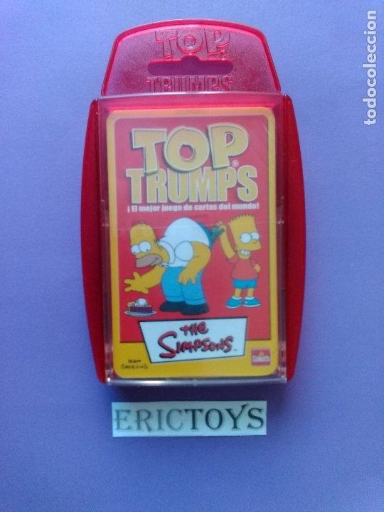 Barajas de cartas: BARAJA THE SIMPSONS, TOP TRUMPS AÑO 2005 - NUEVA A ESTRENAR, PRECINTADA!!! - ERICTOYS - Foto 2 - 204198573