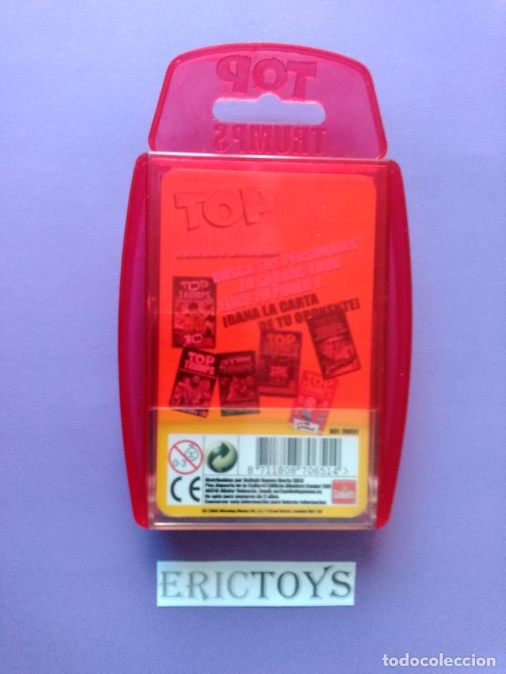 Barajas de cartas: BARAJA THE SIMPSONS, TOP TRUMPS AÑO 2005 - NUEVA A ESTRENAR, PRECINTADA!!! - ERICTOYS - Foto 3 - 204198573
