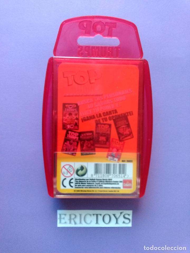 Barajas de cartas: BARAJA THE SIMPSONS, TOP TRUMPS AÑO 2005 - NUEVA A ESTRENAR, PRECINTADA!!! - ERICTOYS - Foto 4 - 204198573