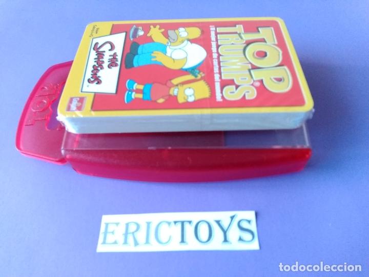 Barajas de cartas: BARAJA THE SIMPSONS, TOP TRUMPS AÑO 2005 - NUEVA A ESTRENAR, PRECINTADA!!! - ERICTOYS - Foto 5 - 204198573