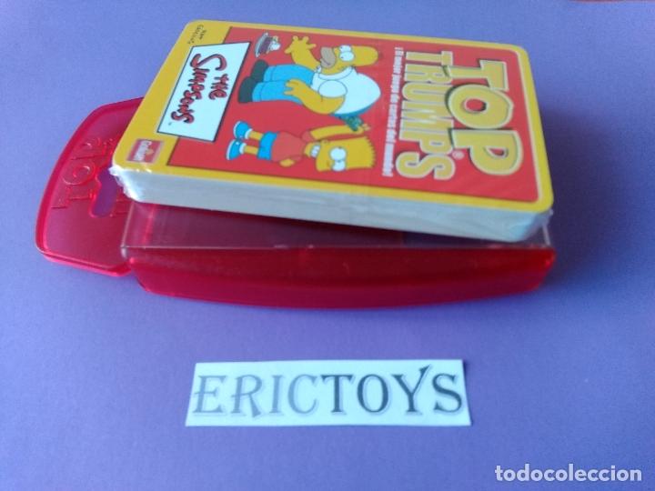Barajas de cartas: BARAJA THE SIMPSONS, TOP TRUMPS AÑO 2005 - NUEVA A ESTRENAR, PRECINTADA!!! - ERICTOYS - Foto 6 - 204198573