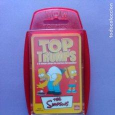 Barajas de cartas: BARAJA THE SIMPSONS, TOP TRUMPS AÑO 2005 - NUEVA A ESTRENAR, PRECINTADA!!! - ERICTOYS. Lote 204198573