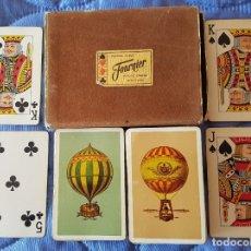 Barajas de cartas: == V01 - DOS ANTIGUAS BARAJAS DE POKER EN ESTUCHE - FOURNIER . Lote 178284368
