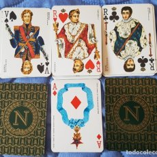 Barajas de cartas: == V03 - BARAJA DE CARTAS NAPOLEON -SIN ESTUCHE - FALTA UNA CARTA . Lote 178284583