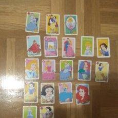 Barajas de cartas: SET LOTE DE 24 CARTAS PRINCESAS DISNEY. Lote 178361177