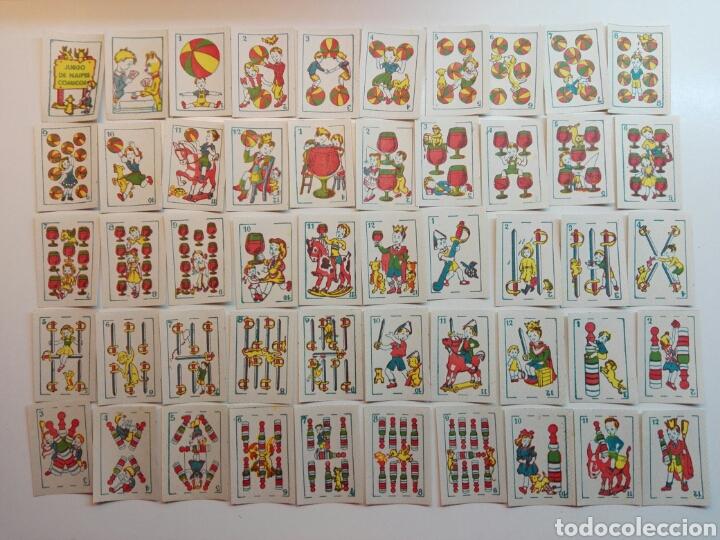 JUEGO DE NAIPES COMICOS (Juguetes y Juegos - Cartas y Naipes - Barajas Infantiles)
