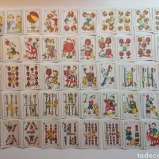 Barajas de cartas: JUEGO DE NAIPES COMICOS. Lote 178386946