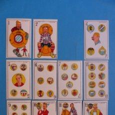 Barajas de cartas: PRECIOSA, RARA Y ANTIGUA BARAJA DE FUTBOL, CINE, TOROS Y BOXEO -AÑOS 1920 - ILUSTRADA POR A. VERCHER. Lote 178656481