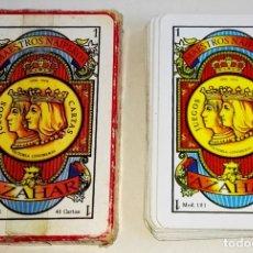 Barajas de cartas: BARAJA ESPAÑOLA - MAESTROS NAIPEROS AZAHAR - 40 CARTAS. Lote 178730011