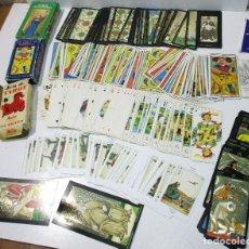 Barajas de cartas: LOTE BARAJAS DE TAROT, INCOMPLETAS. Lote 178736685