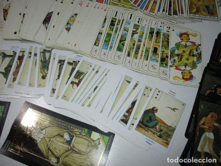 Barajas de cartas: lote barajas de TAROT, incompletas - Foto 2 - 178736685