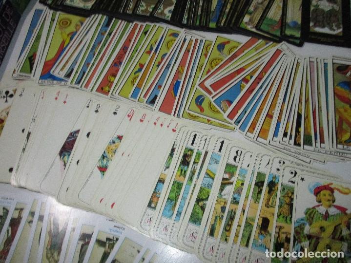 Barajas de cartas: lote barajas de TAROT, incompletas - Foto 3 - 178736685