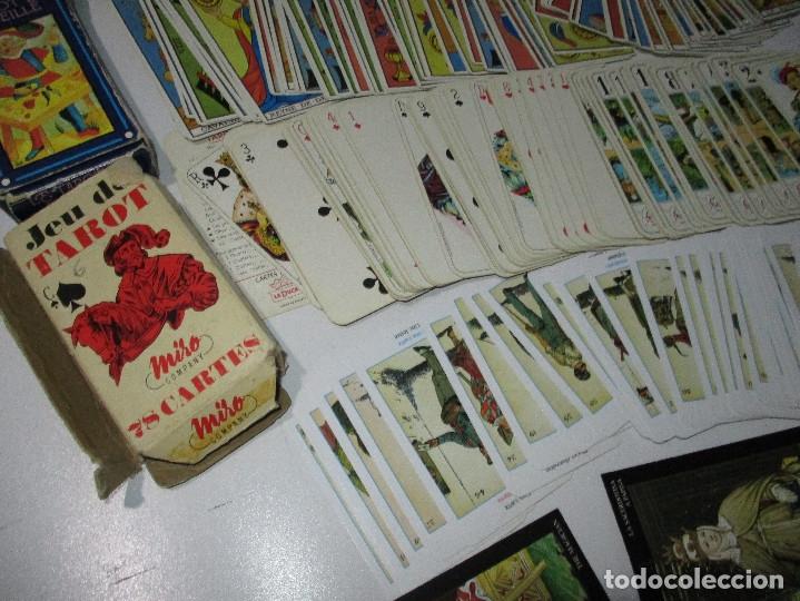 Barajas de cartas: lote barajas de TAROT, incompletas - Foto 6 - 178736685