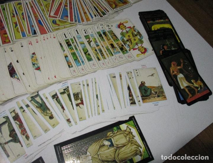 Barajas de cartas: lote barajas de TAROT, incompletas - Foto 7 - 178736685