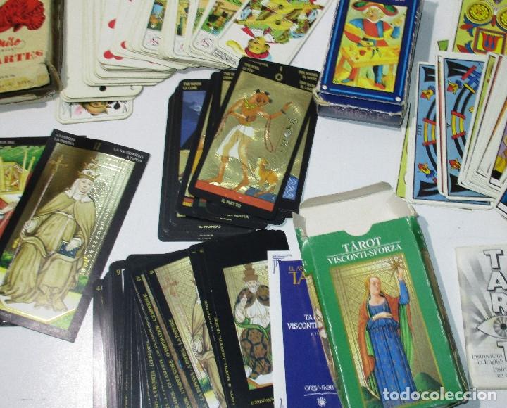 Barajas de cartas: lote barajas de TAROT, incompletas - Foto 8 - 178736685