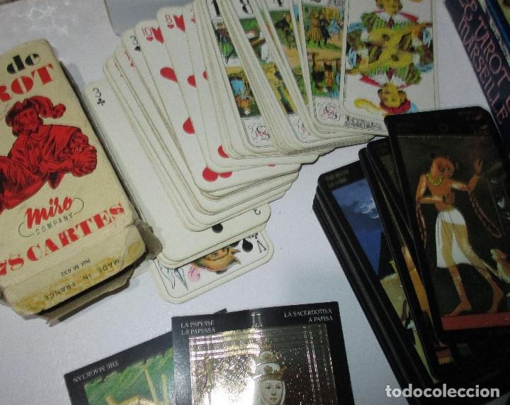 Barajas de cartas: lote barajas de TAROT, incompletas - Foto 9 - 178736685