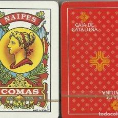 Barajas de cartas: CAJA DE CATALUÑA - BARAJA ESPAÑOLA 50 CARTAS. Lote 178775458