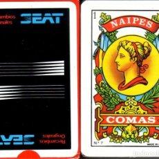 Barajas de cartas: SEAT - RECAMBIOS ORIGINALES - BARAJA ESPAÑOLA 50 CARTAS. Lote 178775633