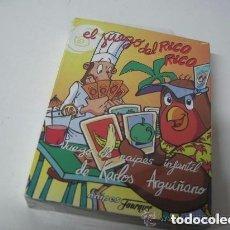 Barajas de cartas: FOURNIER EL JUEGO DE RICO RICO, JUEGO DE NAIPES INFANTIL DE KARLOS ARGIÑANO MADE IN SPAIN. Lote 178851366