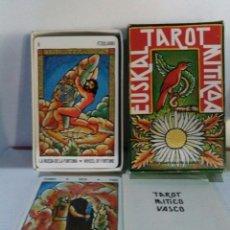 Barajas de cartas: COLECCIÓN. EUSKAL TAROT MITIKOA. Lote 178884132