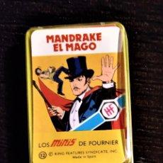 Barajas de cartas: BARAJA SUPERHÉROES AÑOS 70 HERACLIO FOURNIER - MANDRAKE EL MAGO. Lote 178911277