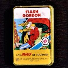 Barajas de cartas: BARAJA SUPERHÉROES AÑOS 70 HERACLIO FOURNIER - FLASH GORDON. Lote 178911457