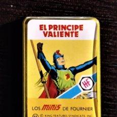 Barajas de cartas: BARAJA SUPERHÉROES AÑOS 70 HERACLIO FOURNIER - EL PRINCIPE VALIENTE. Lote 178911518