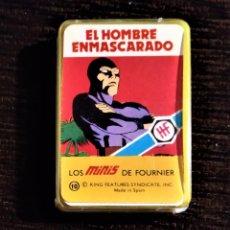 Barajas de cartas: BARAJA SUPERHÉROES AÑOS 70 HERACLIO FOURNIER - EL HOMBRE ENMASCARADO. Lote 178911580