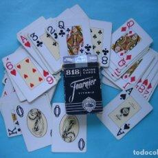 Barajas de cartas: BARAJA - FOURNIER - POKER - COMPLETA CON 54 CARTAS - BUEN ESTADO. Lote 178934503