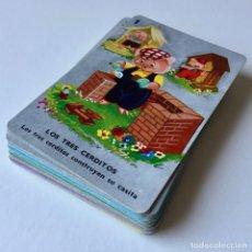 Barajas de cartas: BARAJA DE CARTAS - 7 CUENTOS INFANTILES - INCOMPLETA - AÑOS 70. Lote 179005677
