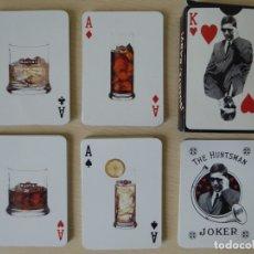 Barajas de cartas: JUEGO DE CARTAS. BARAJA DE 55 CARTAS DE POKER PUBLICIDAD BEBIDAS ALCOHÓLICAS MARTINI. NAIPES COMAS. Lote 179051875