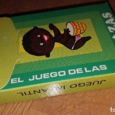 Barajas de cartas: BARAJA EL JUEGO DE LAS RAZAS - DE EDICIONES RECREATIVAS - ORIGINAL AÑO 1960 . Lote 179082672