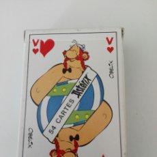 Barajas de cartas: BARAJA DE CARTAS DE ASTERIX Y OBELIX FRANCESA (1987). Lote 179102962
