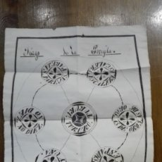 Barajas de cartas: JUEGO DE LA PEREJILA AÑO 1872. Lote 179141022